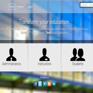Web Application for Institution