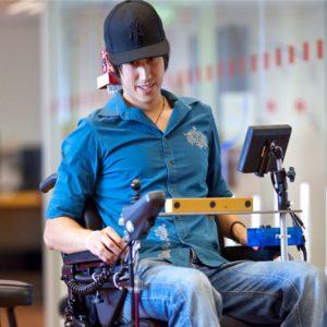 Smart Wheel Chair Control using Eye Ball Cursor I Opencv