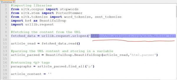 Text Summarization using NLP I Machine Learning 2 1