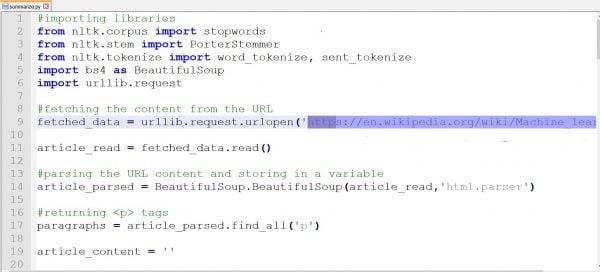 Text Summarization using NLP I Machine Learning 3 1