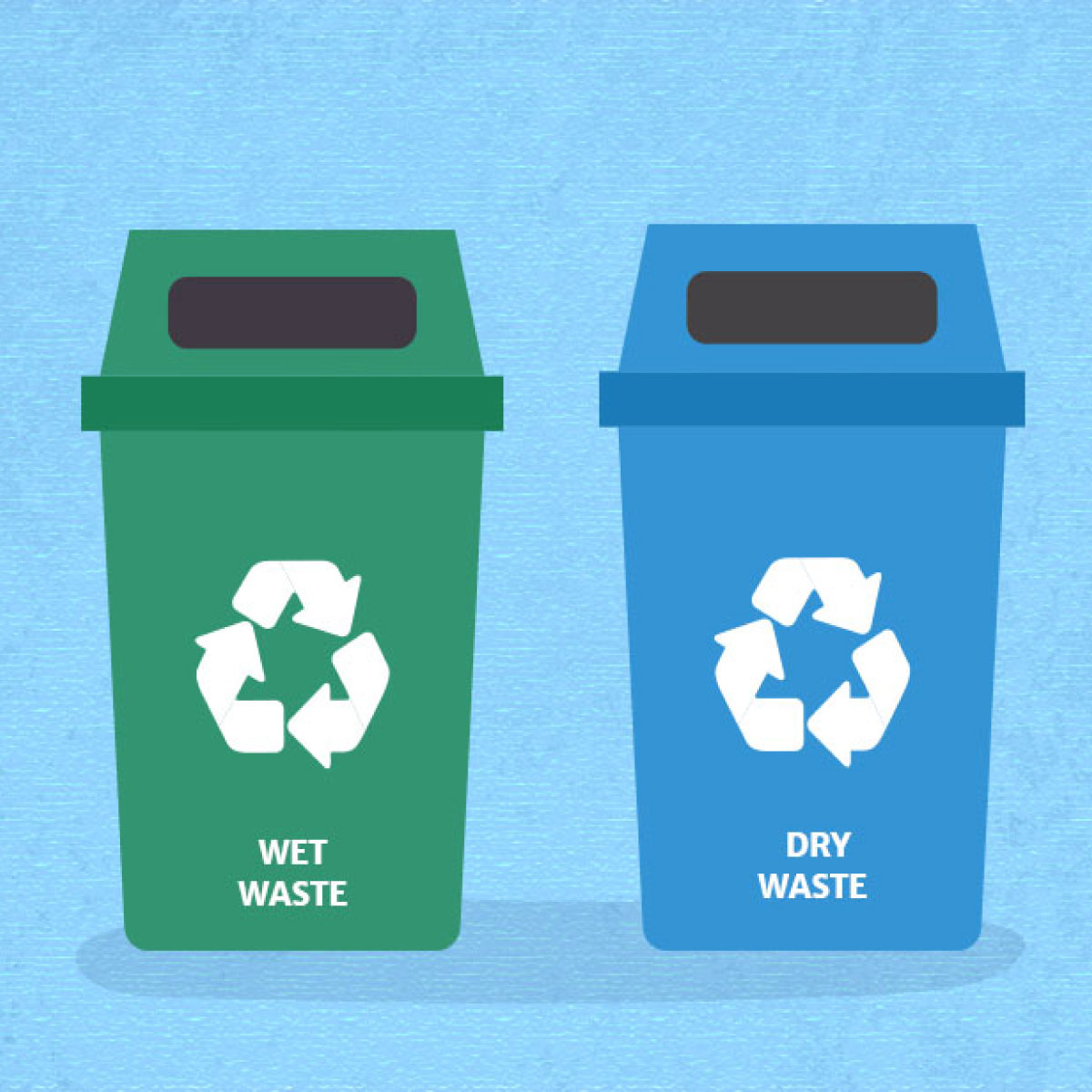 WET AND DRY WASTE SEGREGATION