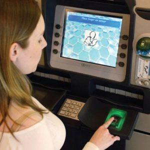Card less transaction using biometric identification raspberry pi