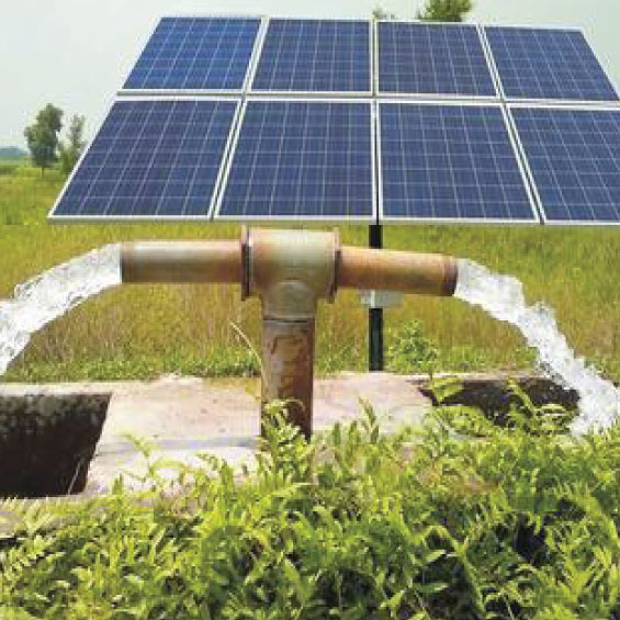 Grid Interactive Solar PV Based Water Pumping Using BLDC Motor Drive
