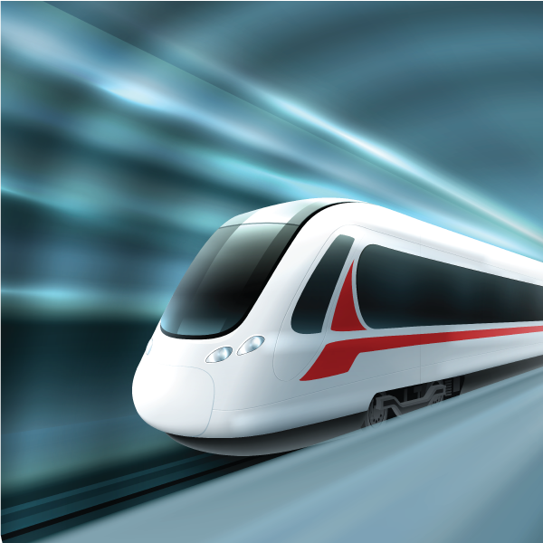 High Speed Railway Communication Using Moving Relays