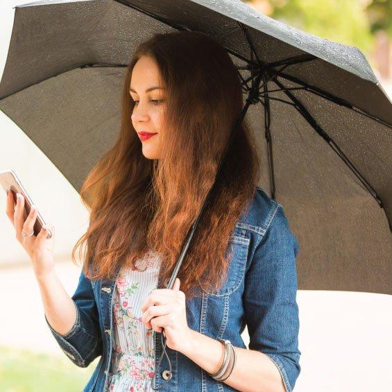 IoT based Smart Umbrella system using Raspberry Pi