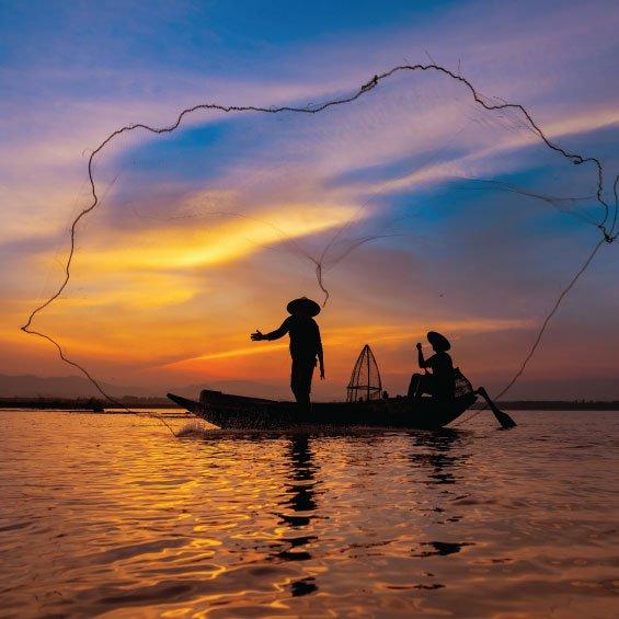 Raspberry Pi based Autonomous Boat for Fisherman