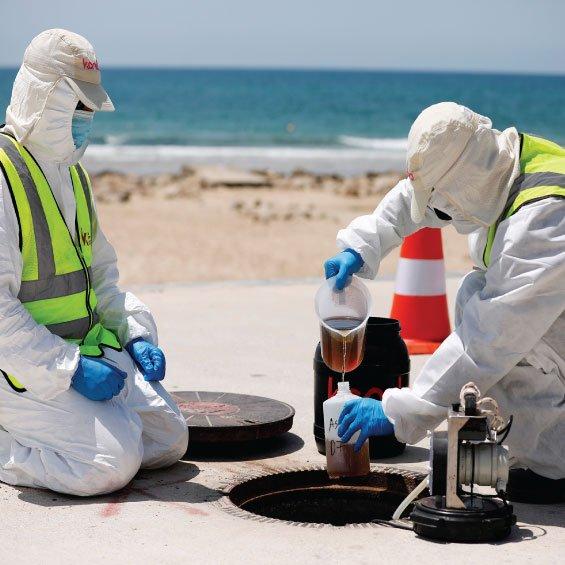 loRa based sewage monitoring raspberry pi