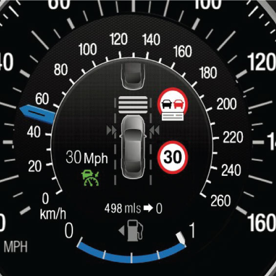 variable vehicle speed limmiter for accident avoidance using using RF tags rapberry pi