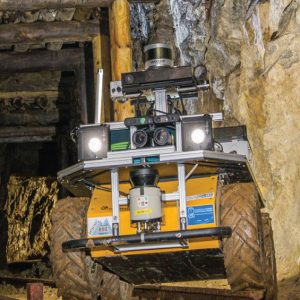virtual telepresence robot for mining