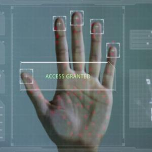 Biometric Security System Using Palmprint And Cryptanalysis