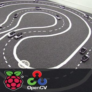 Curved Lane Detection using Raspberry Pi and OpenCV 1