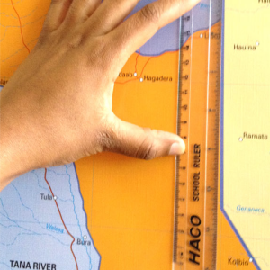 Distance measurement using Image processing