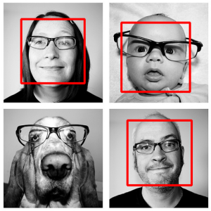Eyeglasses detection on face images using Image Processing 1