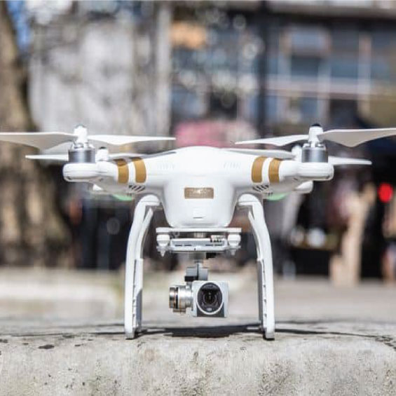 Face detection drone