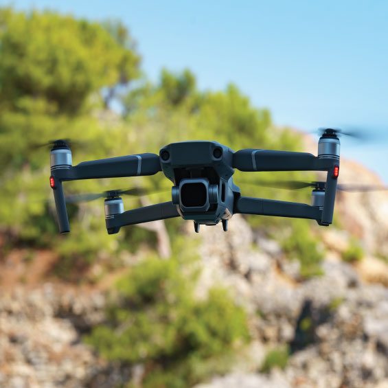 Froest fire detection drone