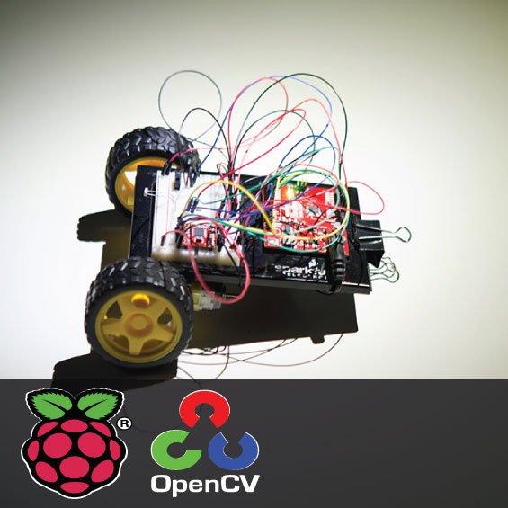 Light sensing robot using Raspberry Pi and OpenCV 1