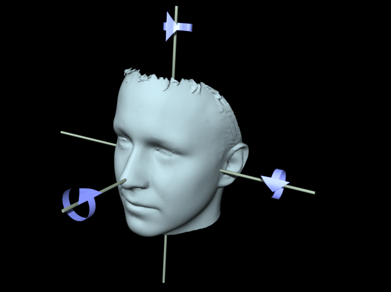 Matlab Code for Head Pose Recognition