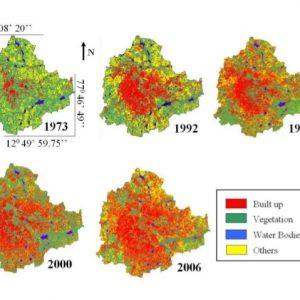 Matlab Code for Land Change Detection