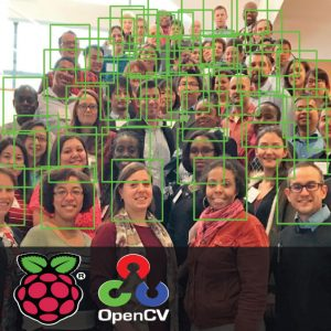 Multiple face detection using Raspberry Pi and OpenCV