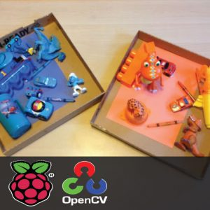 Object Sorting based on color using Raspberry Pi and OpenCV 1