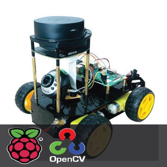Self navigating robot using Lidar with Raspberry Pi 1