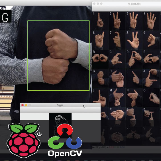 Sign Language Recognition using Raspberry Pi and OpenCV 1
