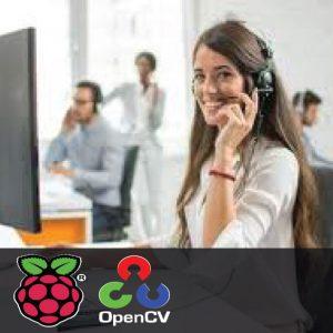 Smart Receptionist using Raspberry Pi and OpenCV 1