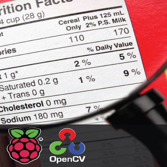Text and Label Reading using Raspberry Pi and OpenCV 1
