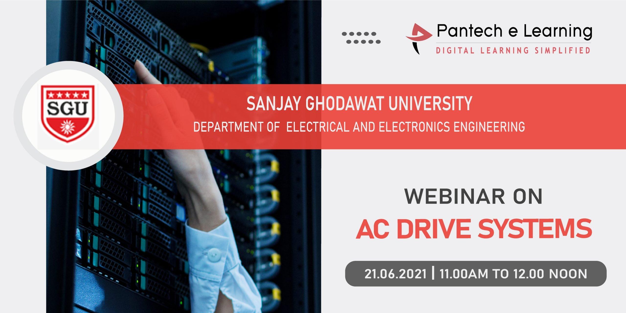 AC Drives system Sanjay University Pantech eLearning