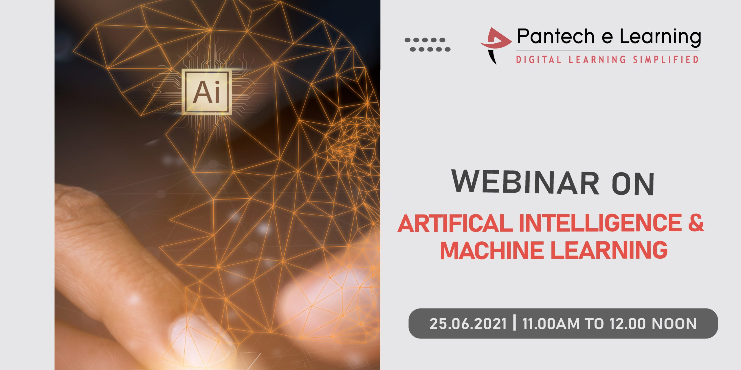 AI Machine Learning SNR institute Pantech eLearning 1