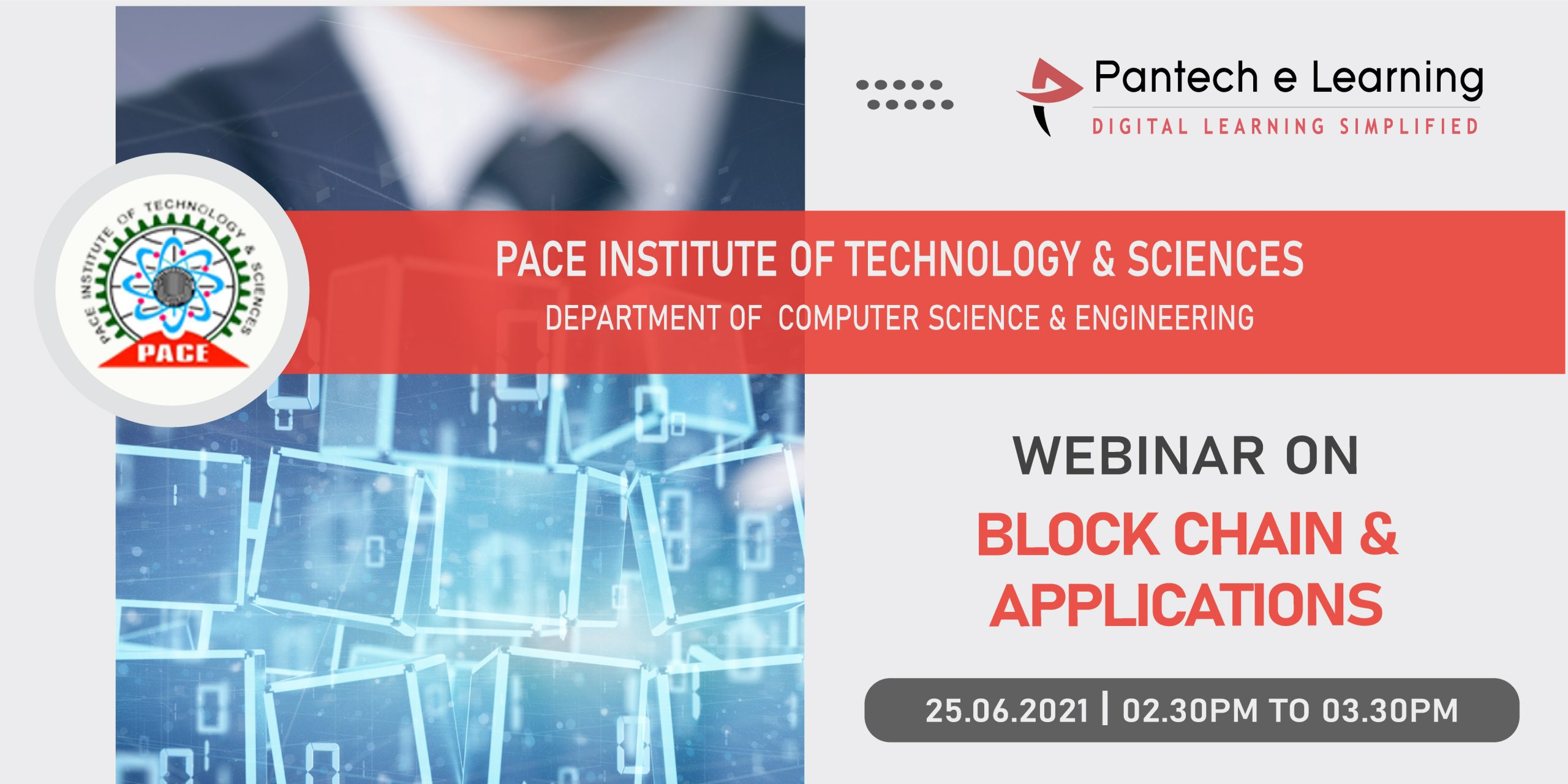 Blockchain applications Pace institute Pantech eLearning
