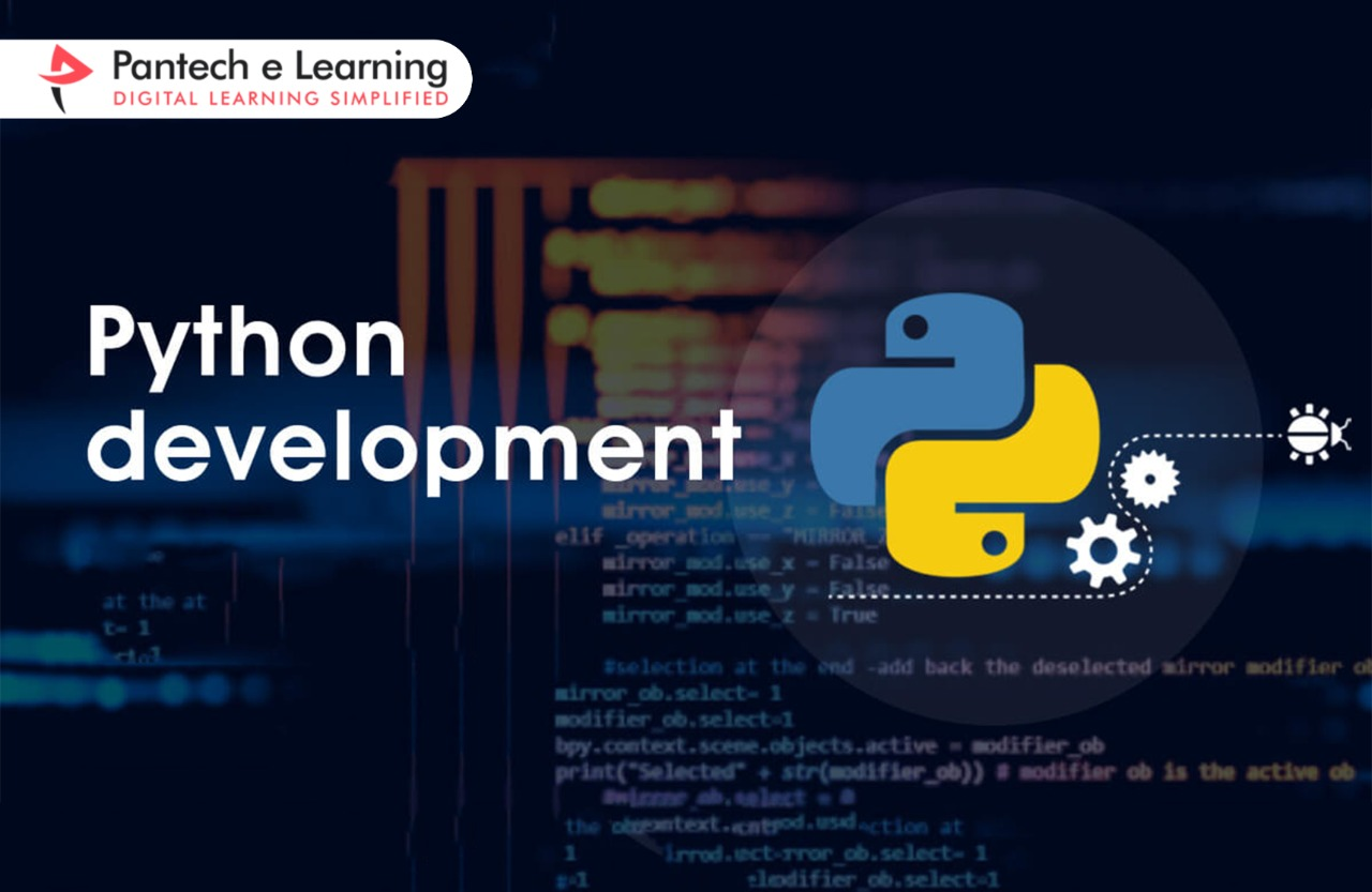 How can you easily develop a website using Python