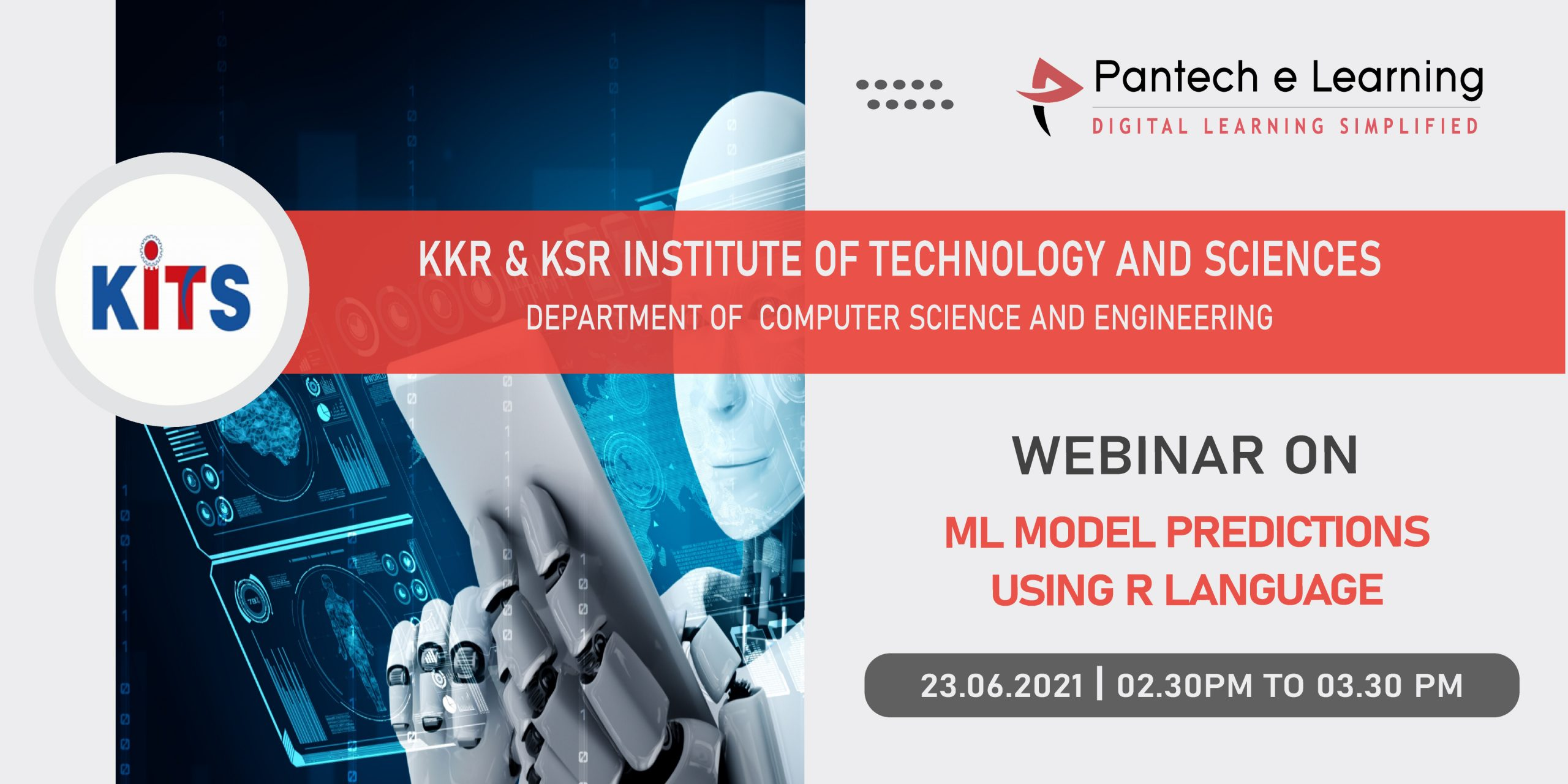 ML using R language KITS institute Pantech e Learning