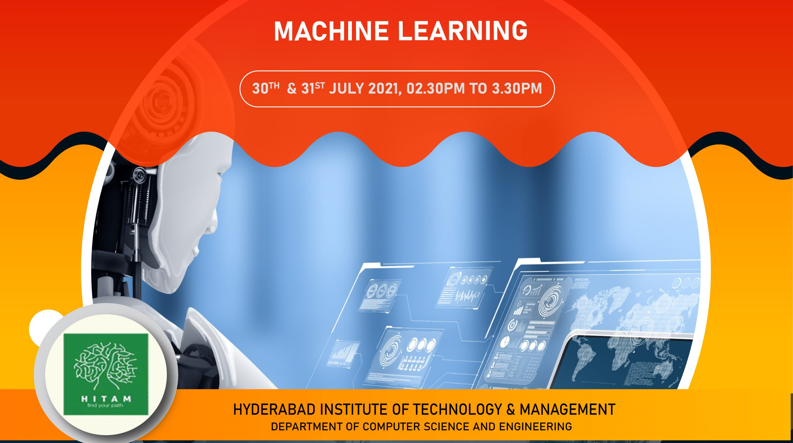 Webinar on Machine Learning - HITAM